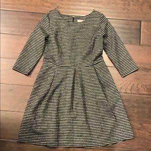 Women's Merona Striped Slub Dress size XL Pockets
